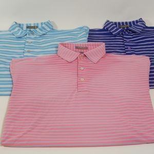 3 Peter Millar Summer Comfort Polos